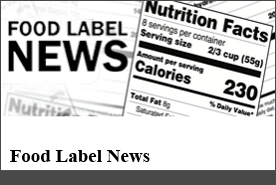 Food Label News - Food Label News